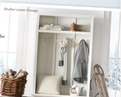 Shutter Locker Storage >