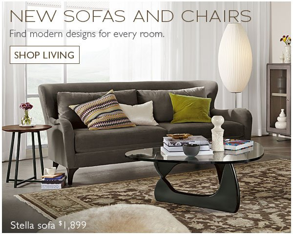 New Sofas and Chairs