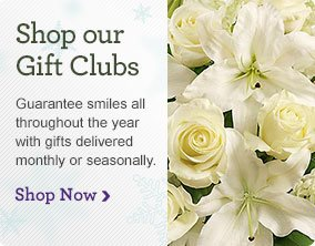 Shop our Gift Clubs Guarantee smiles all throughout the year with gifts delivered monthly or seasonally. Shop Now