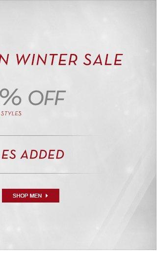 End Of Season Winter Sale - Shop Men