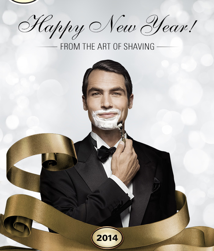 Happy New Year from The Art of Shaving