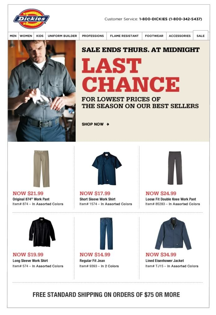 Sale Ends Thurs - Lowest Prices of the Season
