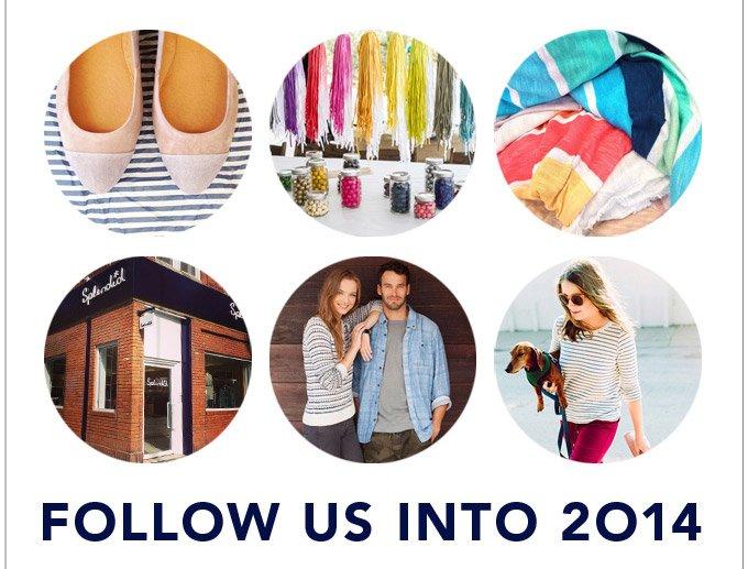 Follow Us Into 2014