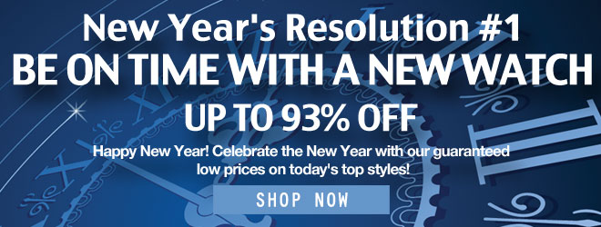 New Year's Watch Sale