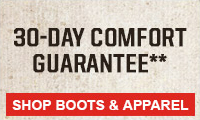 Shop Comfort Guarantee