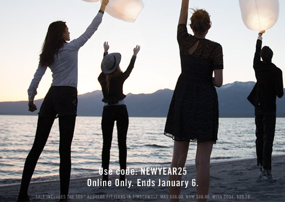 Use code: NEWYEAR25 Online Only. Ends January 6.