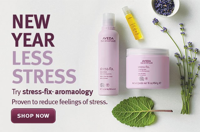 new year less stress. shop now.