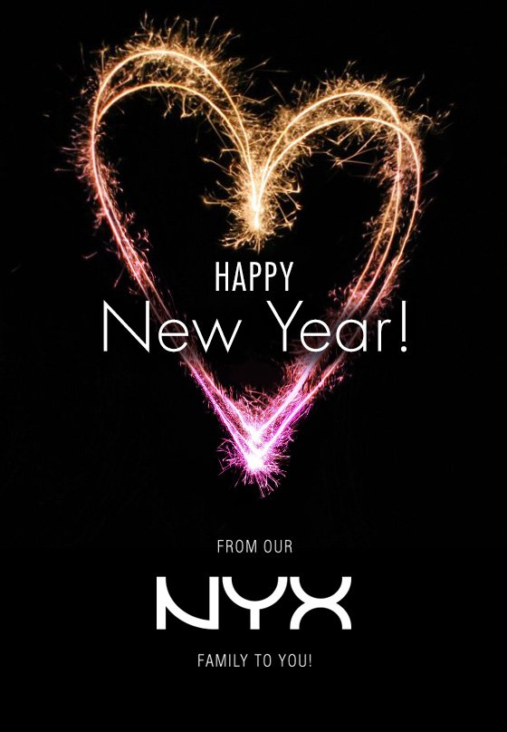 Happy New Year From Our NYX Family To You!