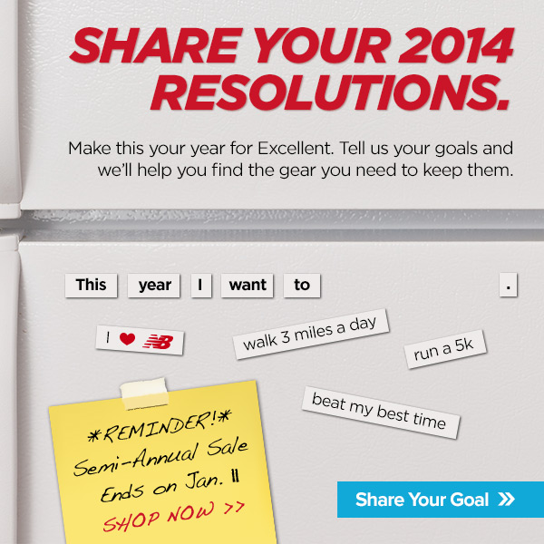 Share your 2014 Goals