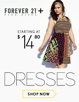 Forever 21 Plus: Resort Dresses