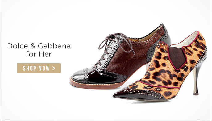 Dolce & Gabbana for Her. Shop Now