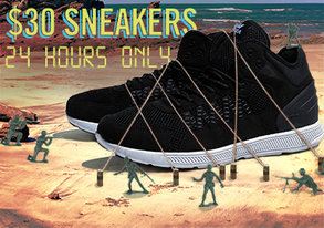 Shop 24 HRS ONLY: $30 Sneakers