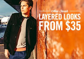 Shop New Farah: Layered Looks from $35