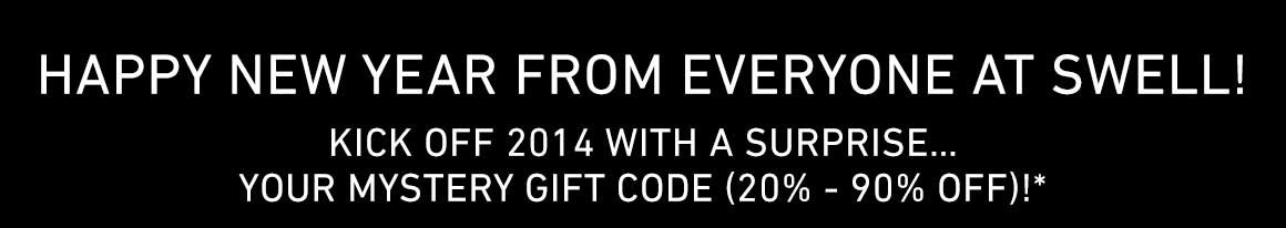 Happy New Year! Start The Year of Right With A Surprise Gift. Save Up To 90% Off!