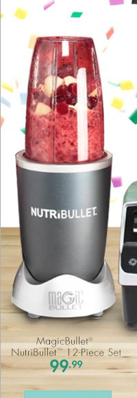 MagicBullet® NutriBullet™ 12-Piece Set 99.99