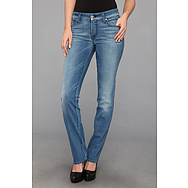 7 For All Mankind Kimmie Straight in Bright Light Blue