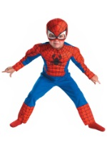 Deluxe Toddler Spiderman Costume