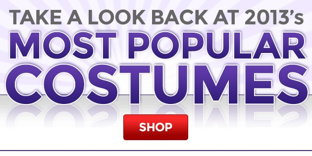 Take a Look Back at 2013's Most Popular Costumes