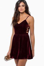 Soft Whispers Velour Dress