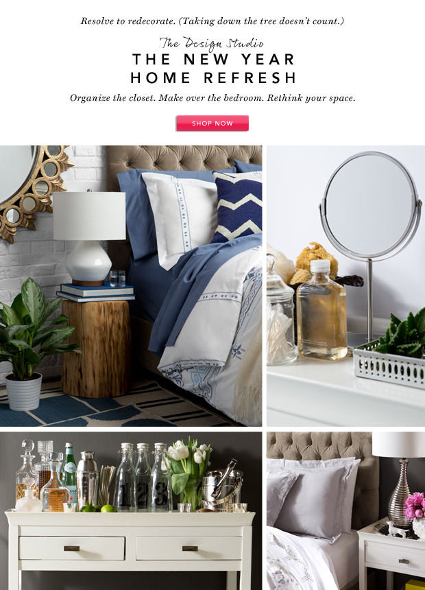 The Design Studio: The New Year Home Refresh