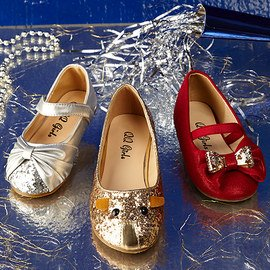 Sparkle All Year: Girls' Shoes