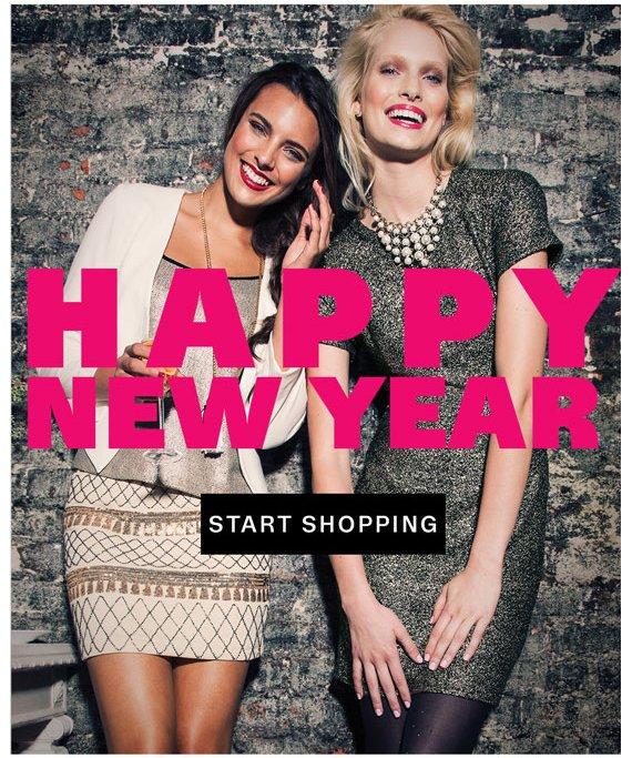Happy New Year. Start Shopping.