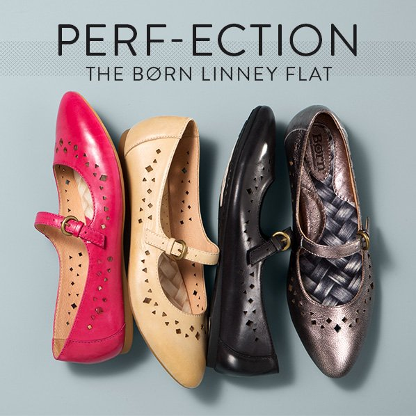 PERF-ECTION: THE BØRN LINNEY FLAT