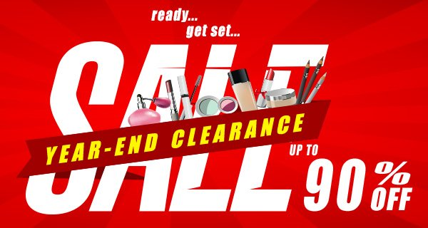Year-End Clearance SALE starts, up to 90% Off