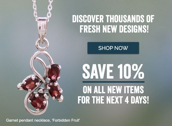 Discover Thousands Of Fresh New Designs! Save 10% On All New Items For The Next 4 Days! Shop Now