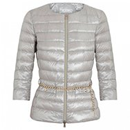 HERNO - Belted quilted shell jacket