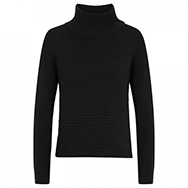 HELMUT LANG - Roll neck cotton and cashmere blend jumper