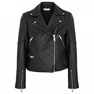 WHISTLES - Ziggy leather biker jacket