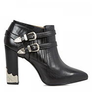 TOGA - Harness leather ankle boots