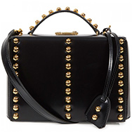MARK CROSS - Grace studded leather box bag
