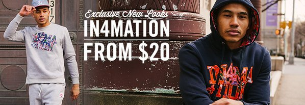 Shop New Looks: In4mation from $20