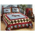 CastleCreek™ Moose Tracks Chenille Comforter Set