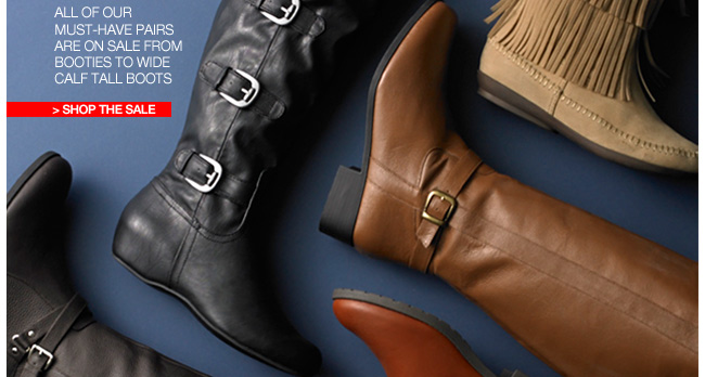 Boots on Sale up to 60 percent off