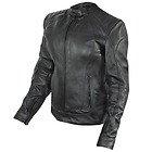 Xelement 'Rebel' Womens Black Leather Jacket