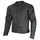 Xelement 'Torque' Mens Black Doublon Textile Jacket