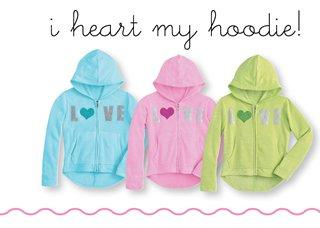 i heart my hoodie!