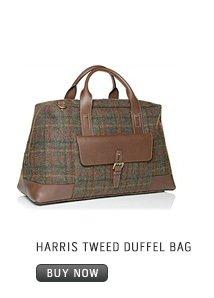 HARRIS TWEED DUFFEL BAG