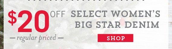 Women's Select Big Star Denim
