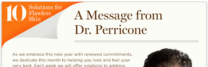 A Message From Dr. Perricone