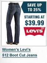 Womens Levi 512 Jeans