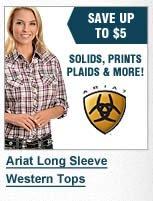 Ariat Long Sleeve Western Tops