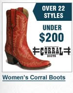 Womens Corral Boots Under 200