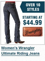 Womens Wrangler Ultimate Riding Jeans
