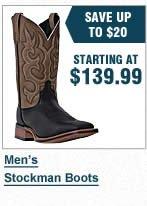 Mens Stockman Boots