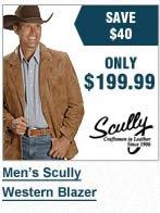 Mens Scully Blazer
