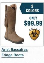 Ariat Sassafras Fringe Boots